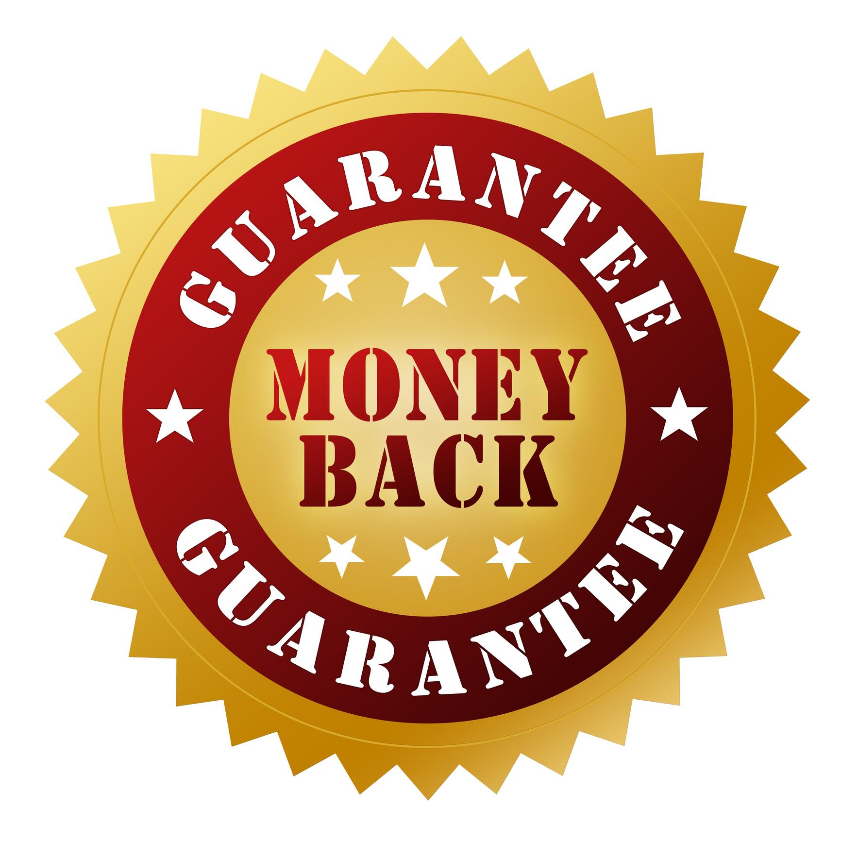 200% Money Back Guarantee
